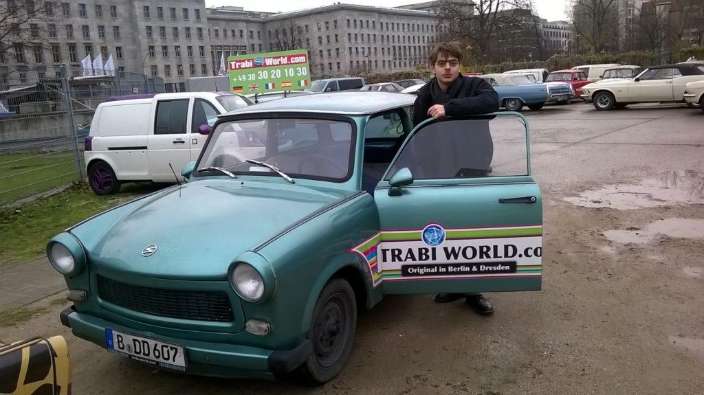 Driving a Trabi
