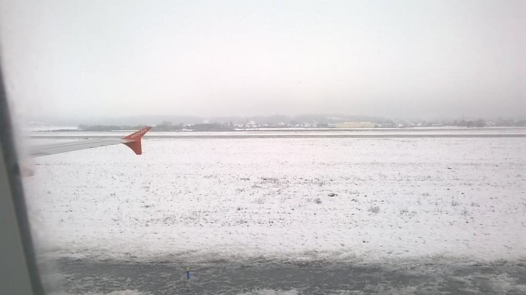 Landing in France