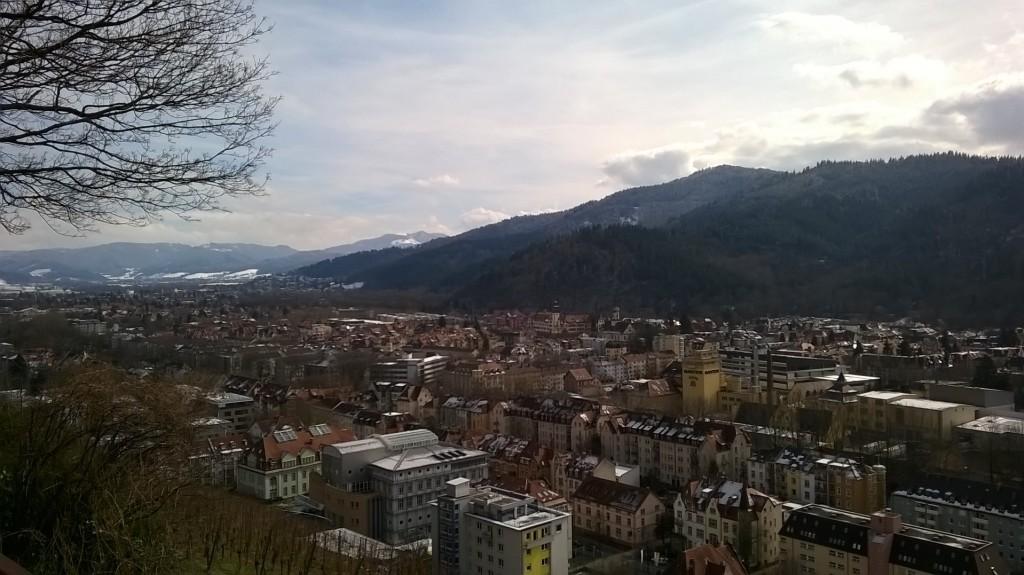 Views over Freiburg